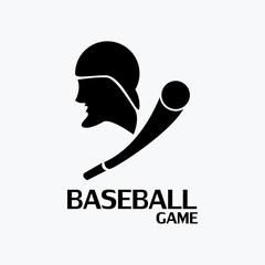 baseball game logo