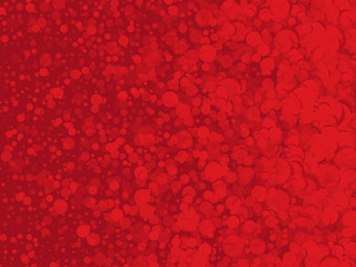 abstract red background with dots