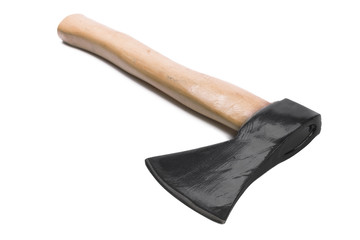 Axe isolated on the white background