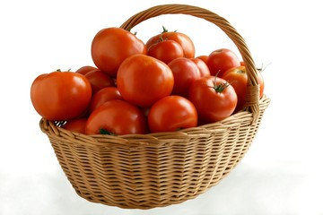 red,tasty and juicy tomatoes