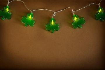 Lucky shamrock. St.Patrick's day background