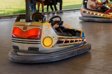 children electric car attraction
