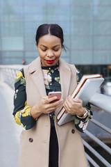 Black business woman in London