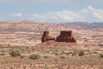Petrified dunes viewpoint