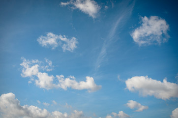 .cloudy sky background close up