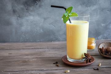 Turmeric Lassi Drink