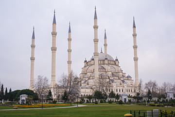 adana sabanci central mosque in turkey
