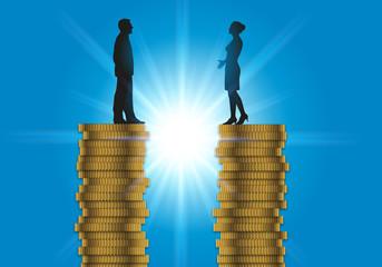 égalité - salaire - femme - travail - justice - équité - homme - discrimination - inégalité - entreprise
