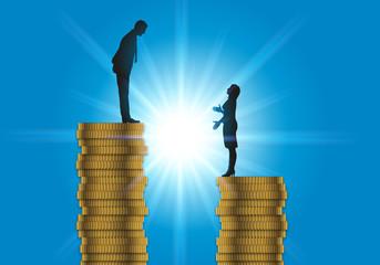 inégalité - salaire - femme - travail - discrimination - homme - égalité - injustice - équité - entreprise