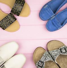 summer women's shoes around