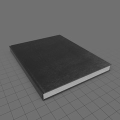 Medium bound sketchbook