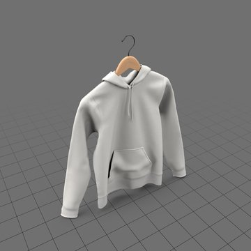 Hanging fitted hoodie with no tag (womens)