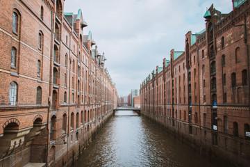 urban architecture in Hamburg