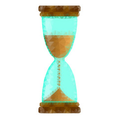 Hourglass polygon