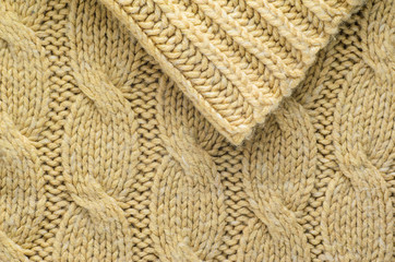 0bfb427c4ec Beige Cable Knit Texture. Texture of Knitted Sweater Fabric with a ...