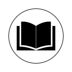 book icon, logo