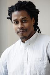Portrait of young black man.