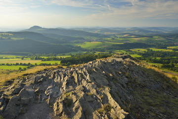 Mountain Top, Abtsrodaer Kuppe, Wasserkuppe, Poppenhausen, Rhon Mountain Range, Hesse, Germany