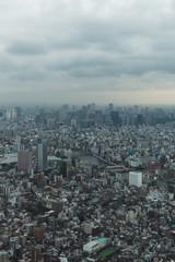 view of tokyo at dusk