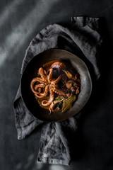 Octopus delicious dish