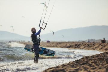 Kitesurfer Navigating Control System