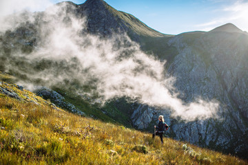 Misty hike through the Overberg Mountains - Hermanus, South Africa