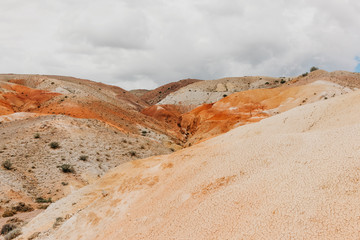 Colorful Hills in the Desert