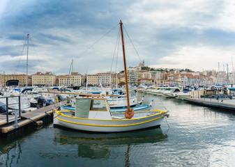 yacht club of Marseille, France
