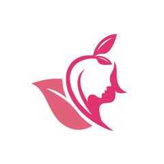 Beauty Spa Logo Template Stock Vector