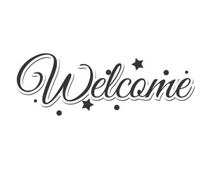 welcome text typography typographic creative writing text image 3