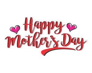 mothers day alphabet typography font text image vector icon 2