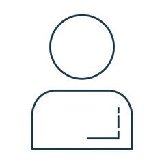 anonimus avatar isolated icon