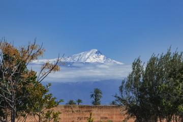 マラケシュからのアトラス山脈