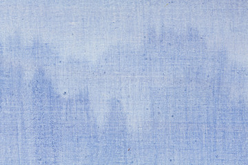Close up of blue mountains on abstract oil painting.