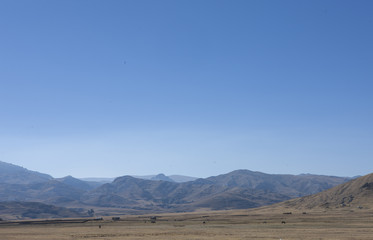Huanuco Pampa site. Inca culture. Peru