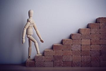 Personal development career concept