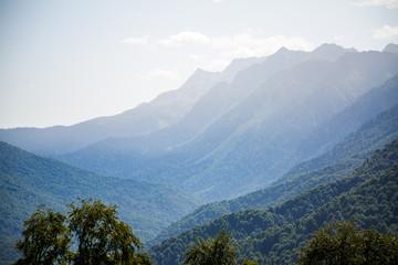 Picture of beautiful mountainous landscape