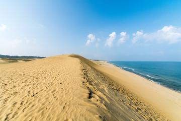 鳥取砂丘と日本海