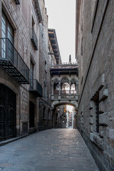 gotic quarter in barcelona