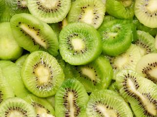 fresh Kiwi fruit, close-up