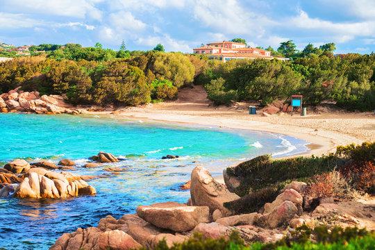 Capriccioli Beach in Costa Smeralda Sardinia
