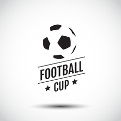 logo Design, symbolic, Flat Design, Graphic Illustration, Football, Soccer, Vector Illustration.