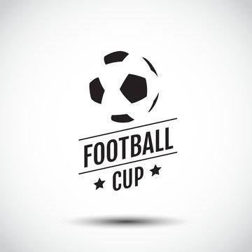 logo Design, symbolic, Flat Design, Graphic Illustration, Football, Soccer, Vector Illustration.