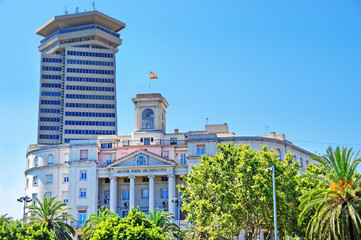 Government building Naval Sector of Catalonia in Barcelona