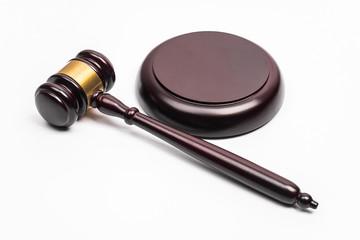 the Hammer Judge on white background.