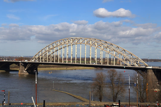 Nijmegen Bridge across the Waal river