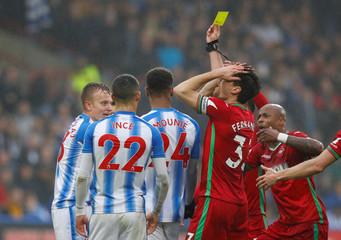 Premier League - Huddersfield Town vs Swansea City