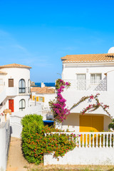 Wall Mural - Holiday houses in Luz town on coast of Portugal, Algarve region