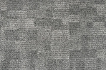 Texture carpet covering, gray with a pattern of squares