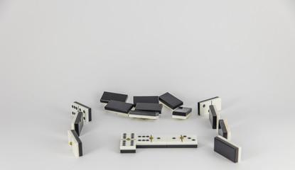 woman playing domino